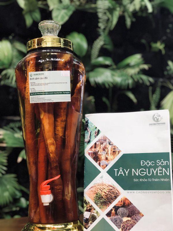 Sâm Cau Đỏ - Cao Nguyên Food