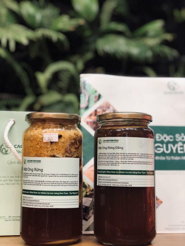 mật ong rừng - ong đắng ngọc linh - cao nguyên food