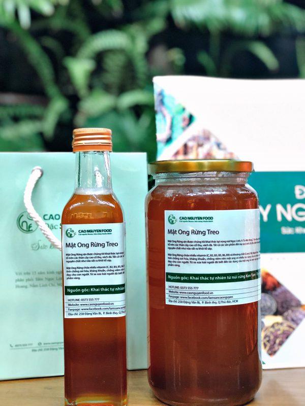 mật ong rừng - ong treo ngọc linh - cao nguyên food