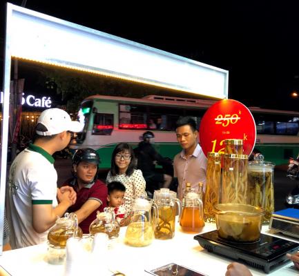 Chương trình giới thiệu Hồng Đảng Sâm tại Hồ Chí Minh